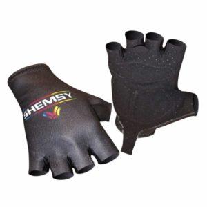 paire de gants cycliste noire Shemsy
