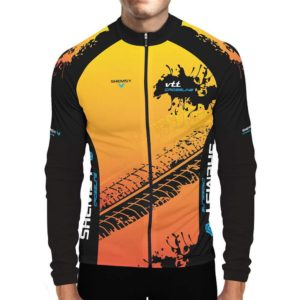 Maillot cyclsite VTT hiver manches longues