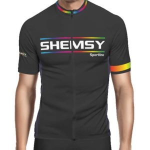 Maillot cycliste manches courtes Shemsy