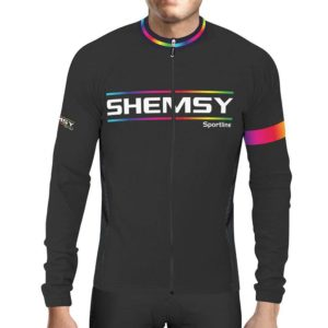 Maillot cycliste hiver manches longues