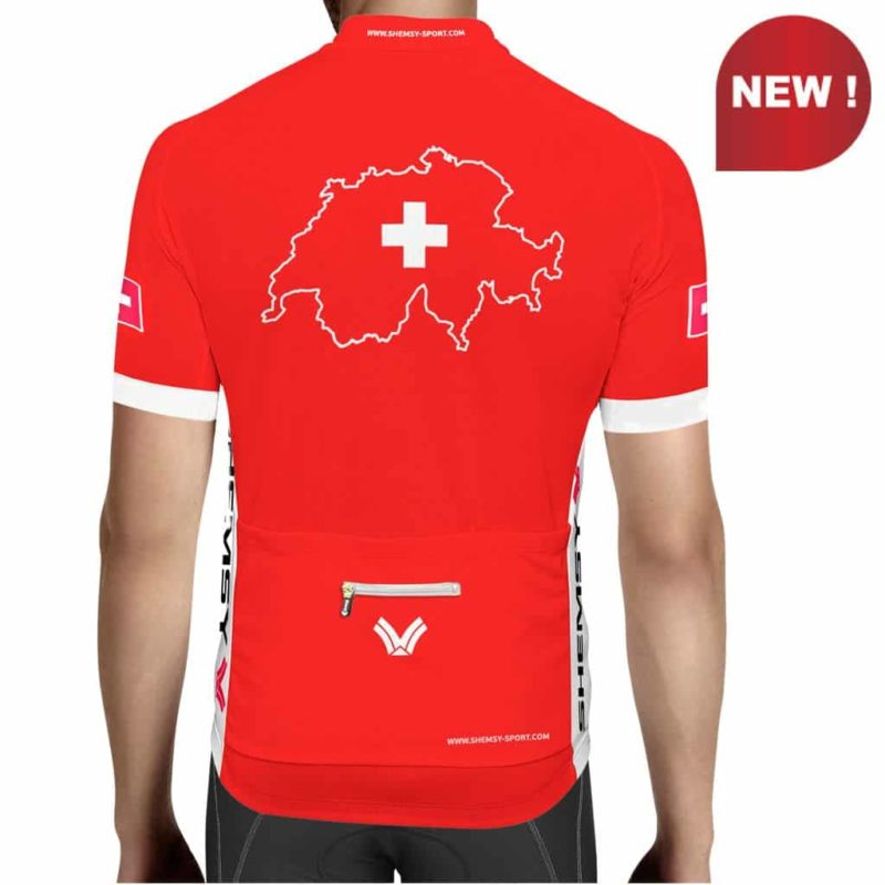 Maillot cycliste Suisse