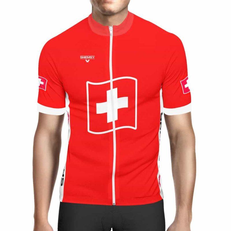 Maillot vélo Suisse