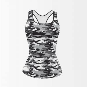 débardeur fitness camouflage